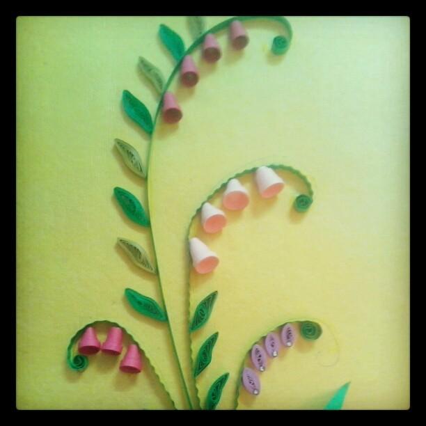 Paper #Quilling wall frame #design!!!! | Swapna Khade | Flickr