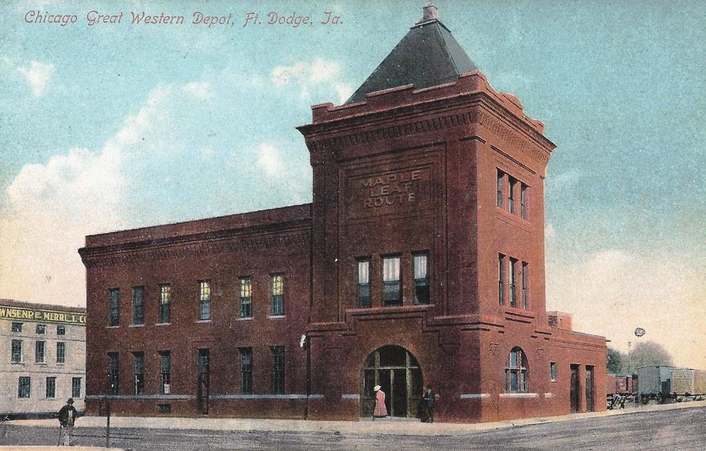 Ft. Dodge, Iowa, Fort, CGW, Chicago Great Western Railroad… | Flickr