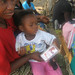 Mother and child with Kit Yamoyo