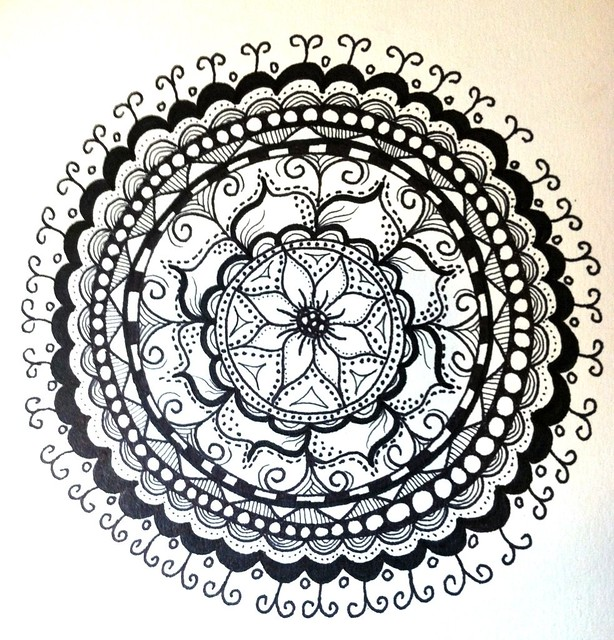 A new #mandala - #doodle #zentangle | Flickr - Photo Sharing!