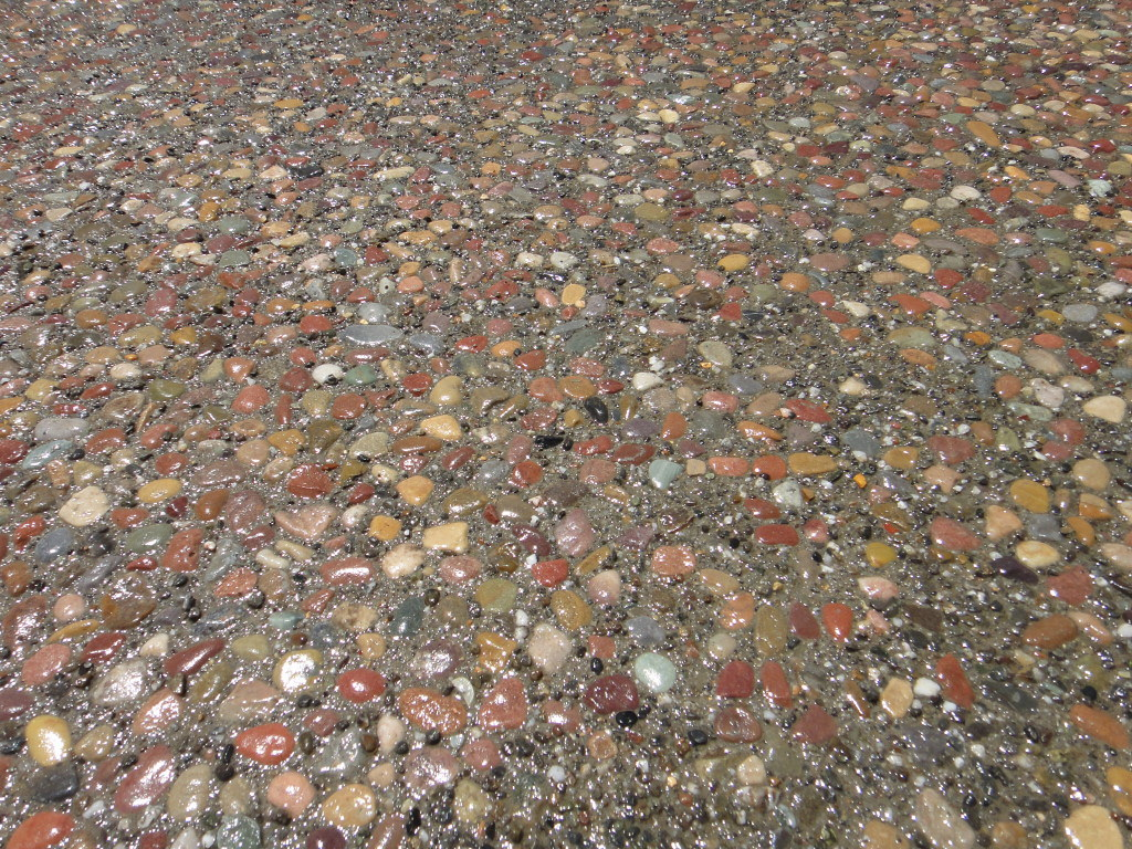 ... Plum Creek Exposed Aggregate Patio Close Up | By A. Townsend Concrete