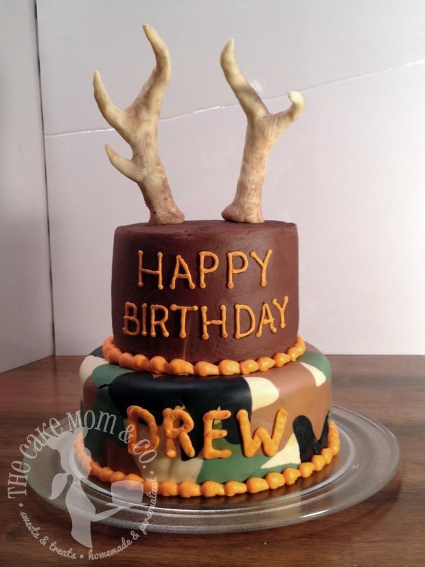 Deer Hunting Birthday Cake Deer Hunting Birthday Cake Flickr