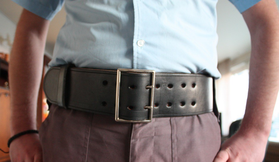 wide 3 inch 7 5 cm wide belt one of the