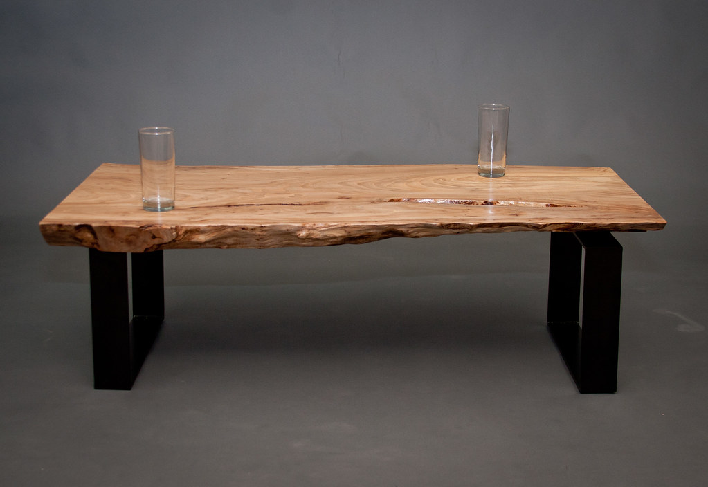 Designer Live Edge Coffee Table Seattle Made By Flickr
