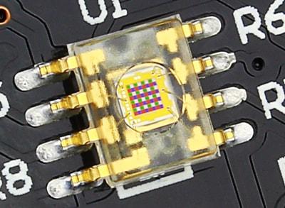 TCS3200 Sensor Closeup