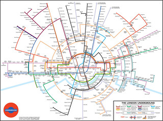 Circular Tube Map by Max Roberts | by Annie Mole