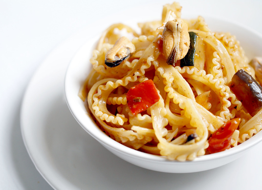 Mafalda Pasta What is Mafalda Pasta With Mussels