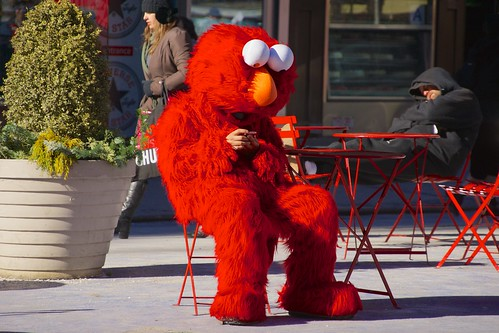 Even Elmo has a mobile phone | by Ed Yourdon