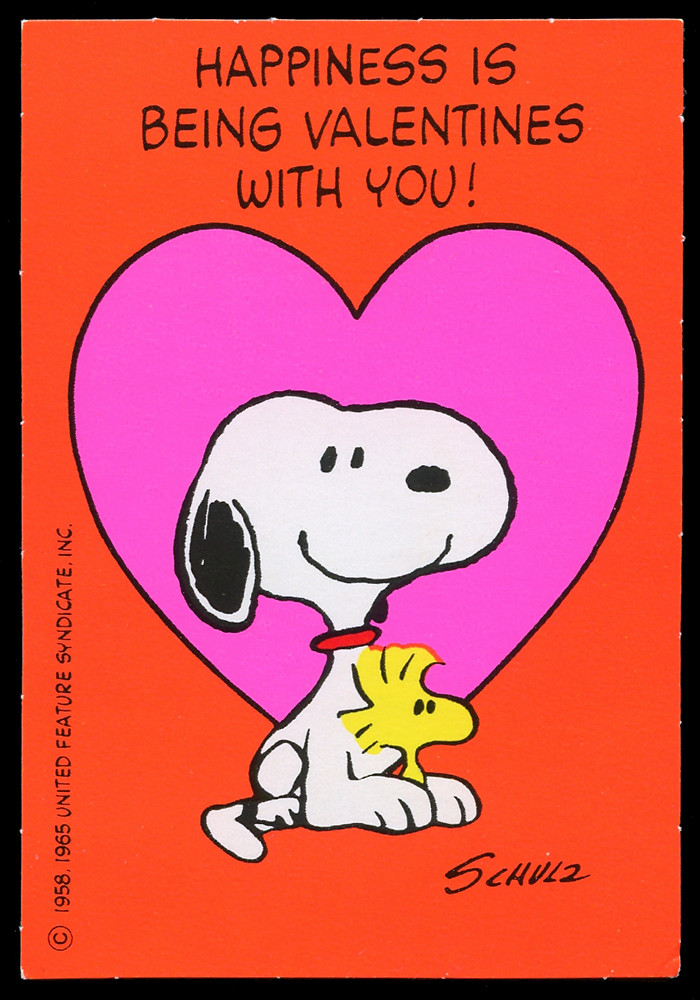 Snoopy U0026 Woodstock Valentine | Todd Franklin | Flickr