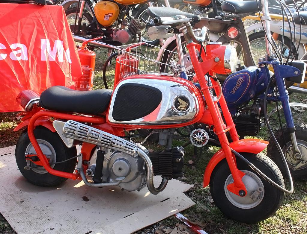Honda CZ 100 Monkey 50 ccm 1963 mmnphoto | Marco 56 | Flickr