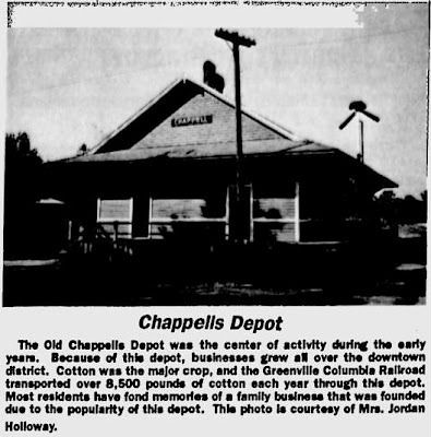 Chappells Depot | by RandomConnections