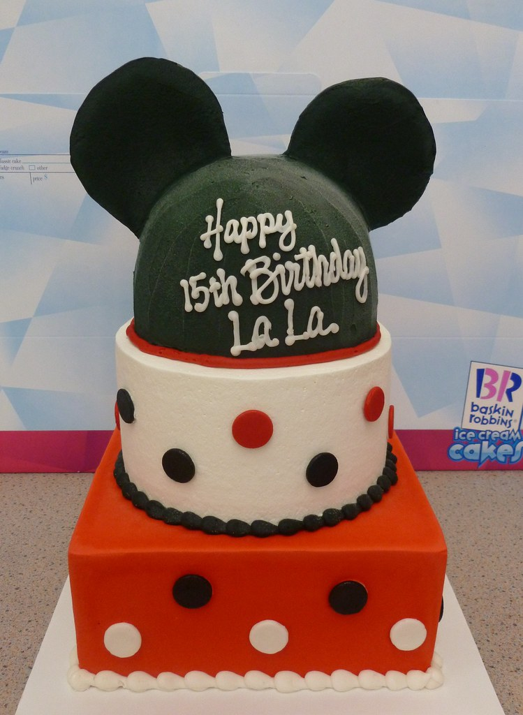 br 535 mickey mouse ice cream cake gary flickr. Black Bedroom Furniture Sets. Home Design Ideas