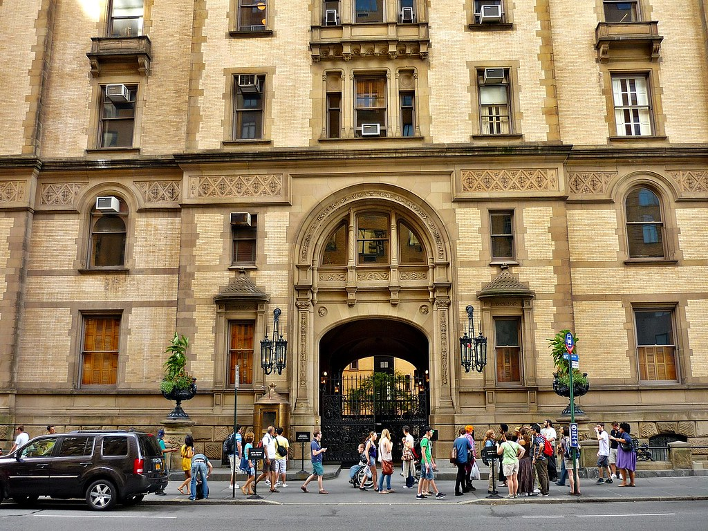 Create A Building Map The Dakota In New York This Is Where John Lennon Was Shot