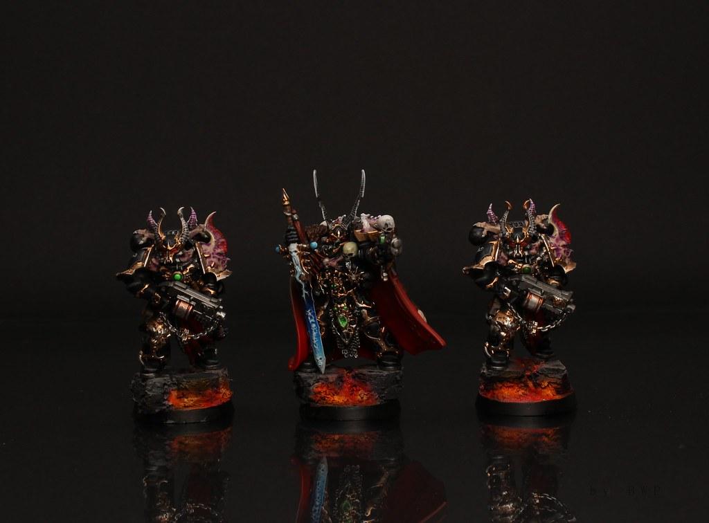 Warhammer 40k Chaos Space Marines Kranon With Chosen D