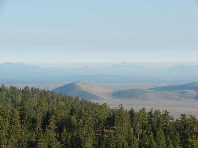 Black Crater, Mt. Washington and Three Fingered Jack