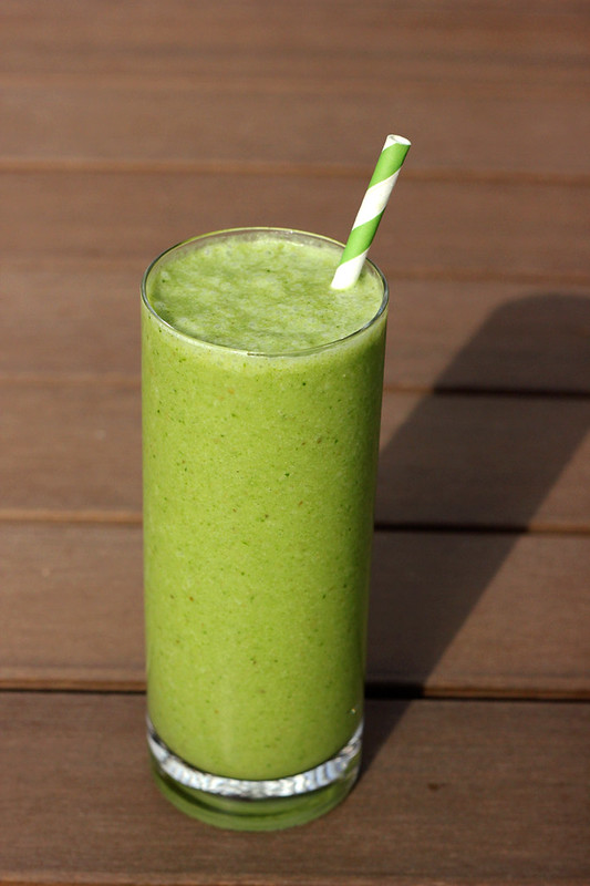 Spring Cleanse - Asian Pear Green Smoothie - Gluten-free, Vegan + Sugar-free