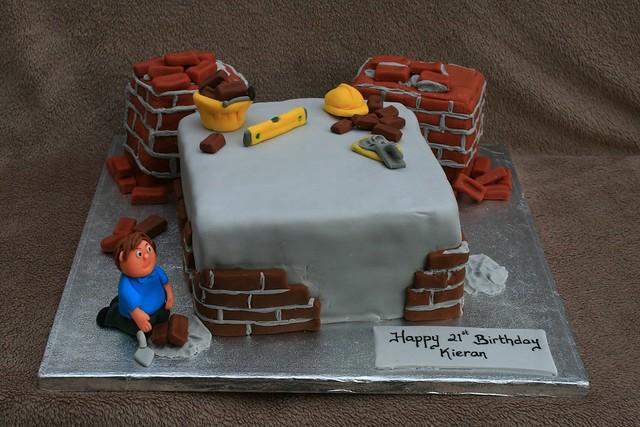 Builders Birthday Cake