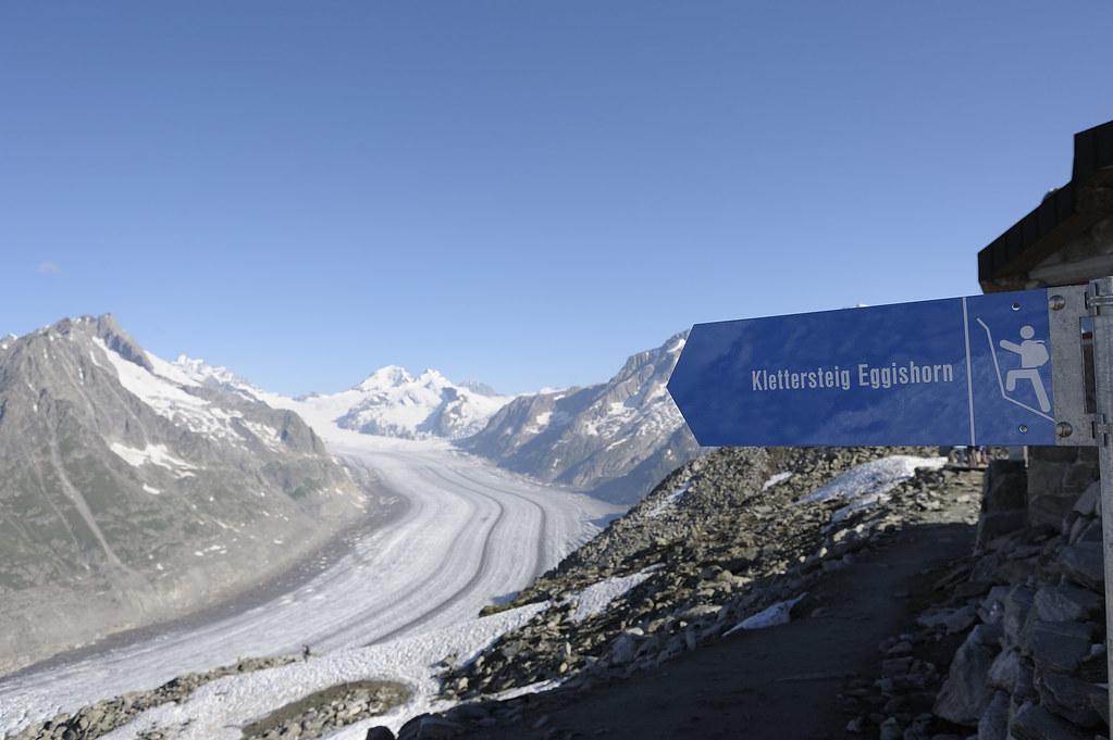 Klettersteig Eggishorn : Klettersteig am eggishorn alpinismus weckt die guten sinneu flickr
