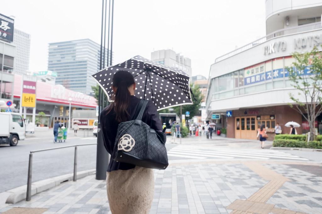 水玉の傘 2016/09/16 X7002142