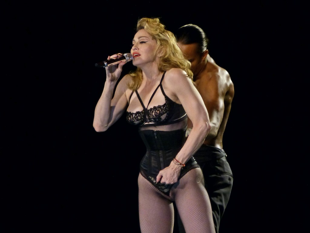 Madonna Corset | MDNA Tour, Córdoba, Argentina | Gustavo ...