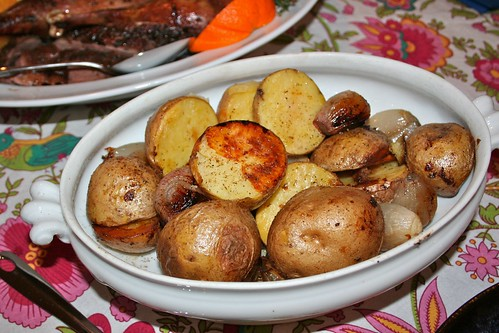 Potatoes roasted in goose fat | by The Hungry Crafter