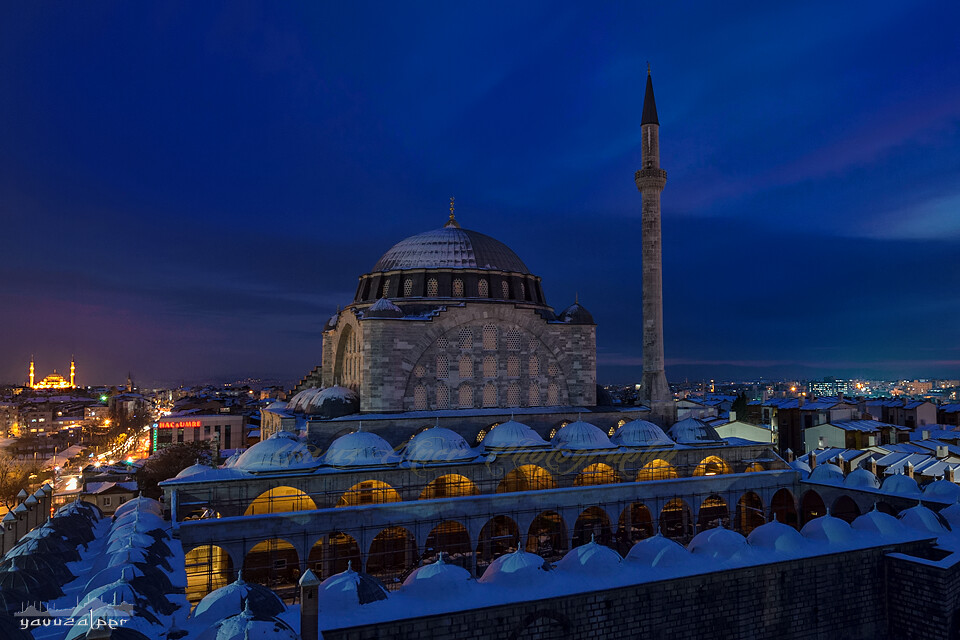 Mihrimah Sultan Camii - Edirnekapı  Mihrimah Sultan ...