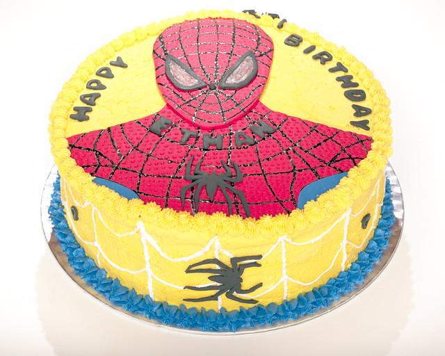 Images Spiderman Cake