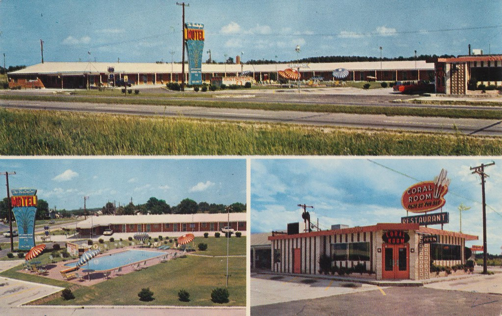 Huntington Motel & Coral Room Restaurant - Wilson, North Carolina