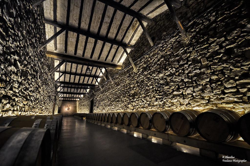 Bodegas franco espa olas sala de barricas logro o flickr - Bodegas de vino en valencia ...