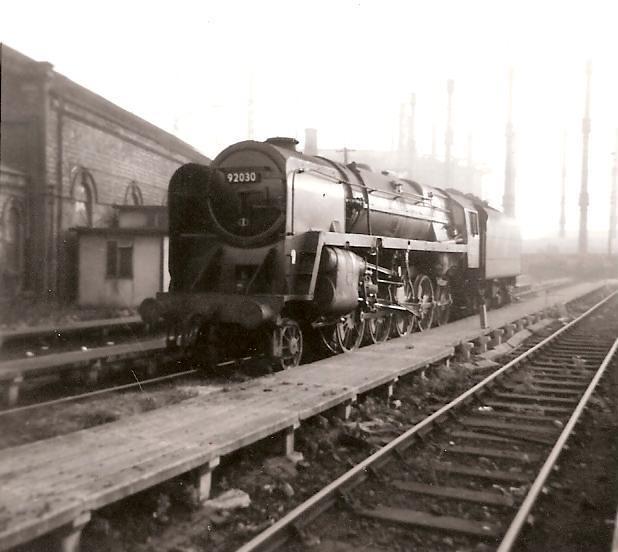 Barrow Road Engine Shed Bristol October 1965 Three