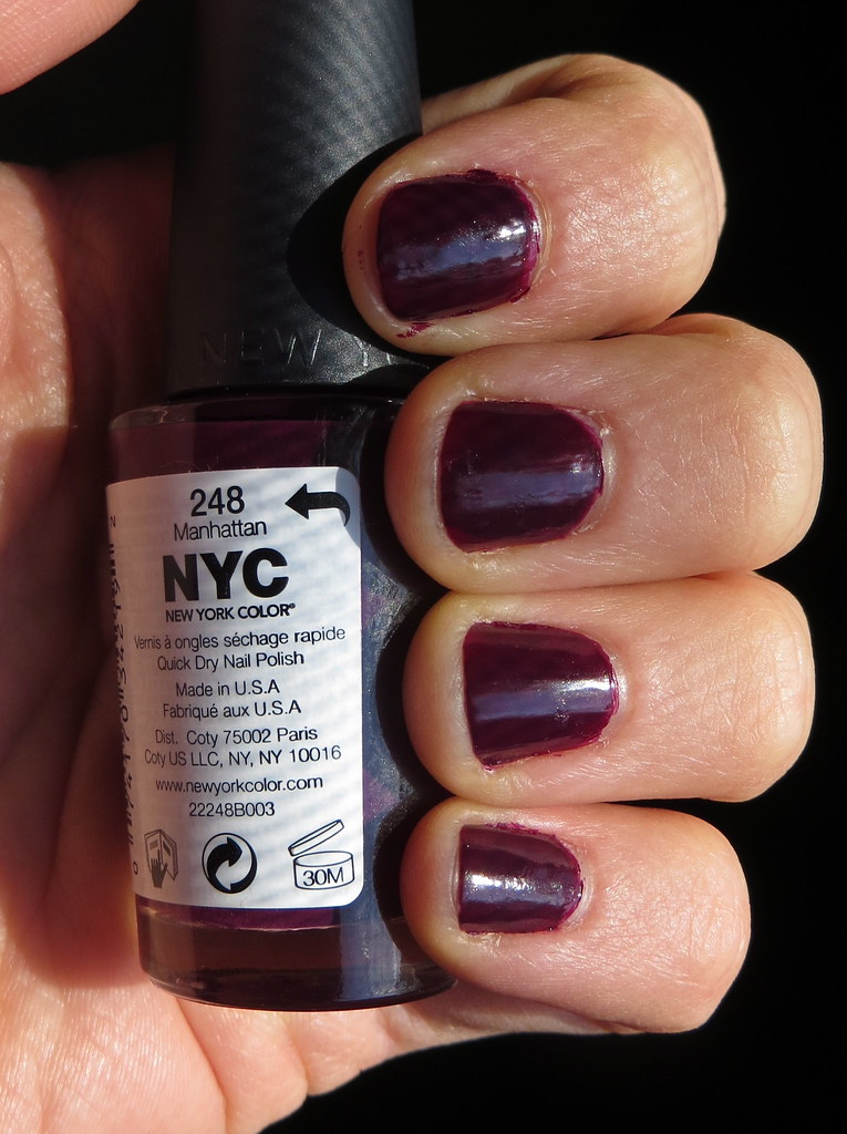 NYC Color Nail Polish - Manhattan | Maggie Not Margaret | Flickr