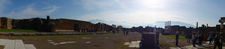Panorama of Pompeii forum | by Simon Chilton