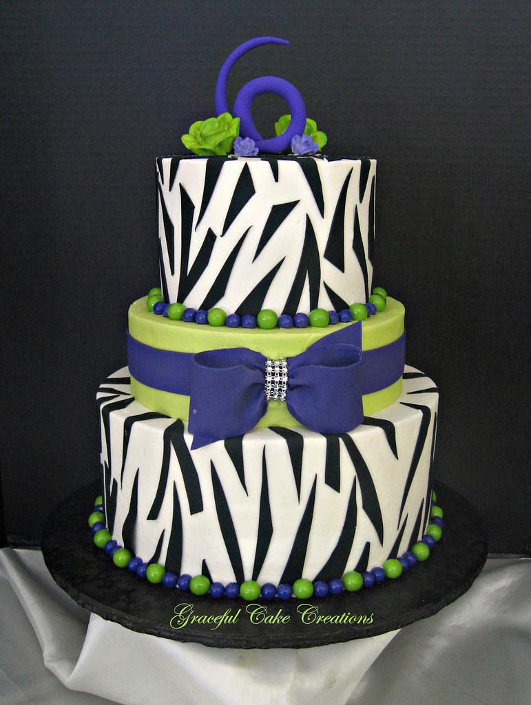 Lime Birthday Cake