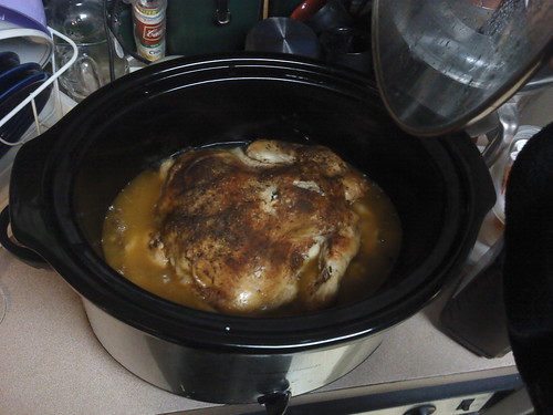 Crockpot Chicken, done! | by Jaquandor