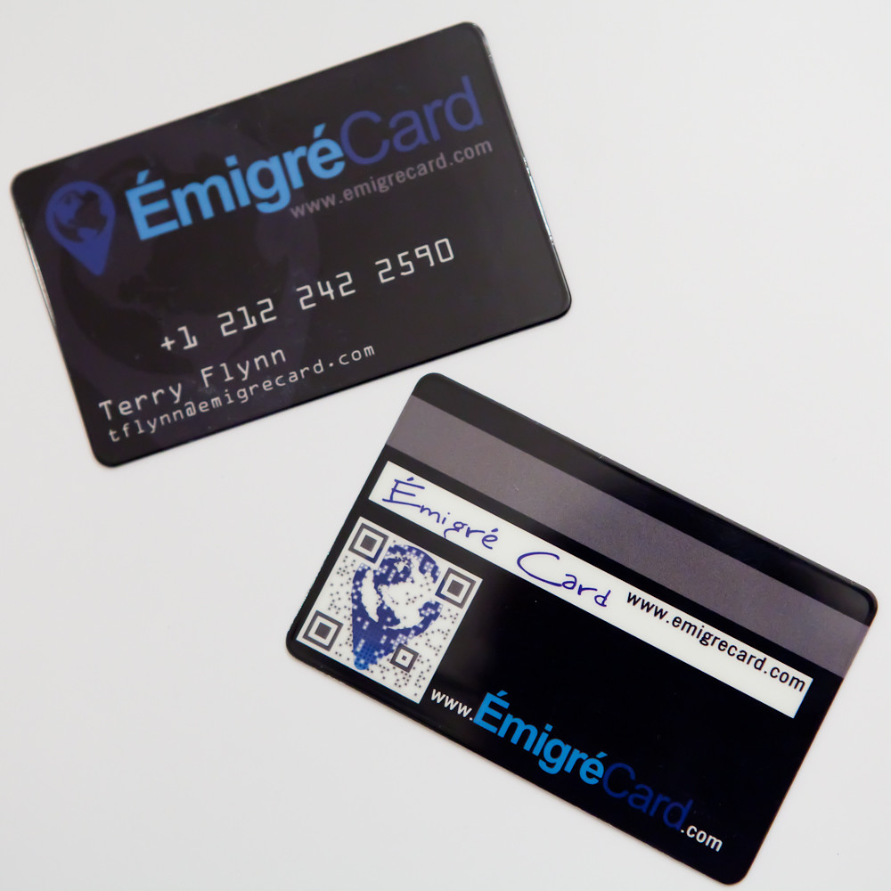 EmigreCard Business Cards | B cards for a credit card compan… | Flickr