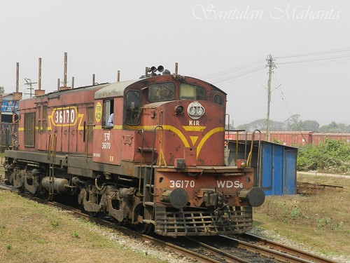 latest addition to nfr diesel loco shed list katihar kir here is