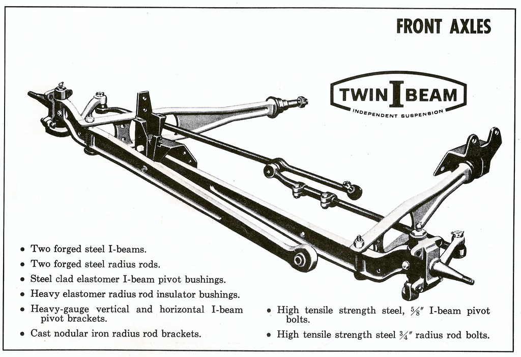 1965 Ford Truck Twin I Beam Independent Suspension Flickr