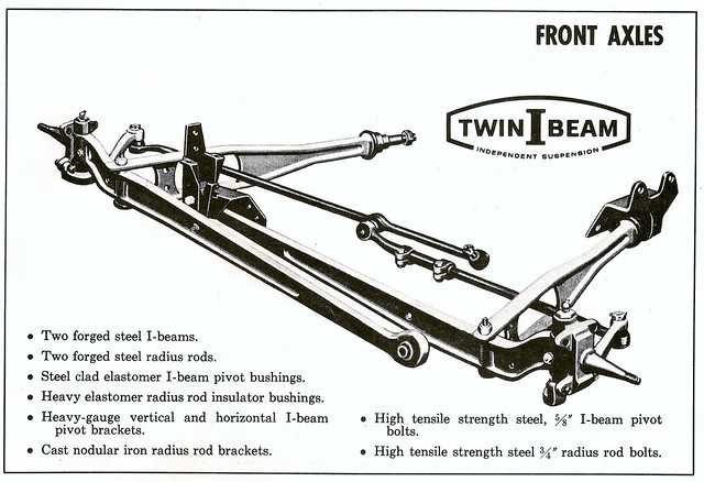 1965 Ford Truck Twin I Beam Independent Suspension