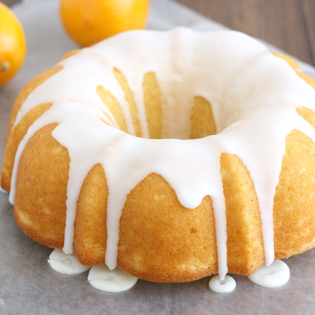 Lemon Buttermilk Bundt Cake Recipe