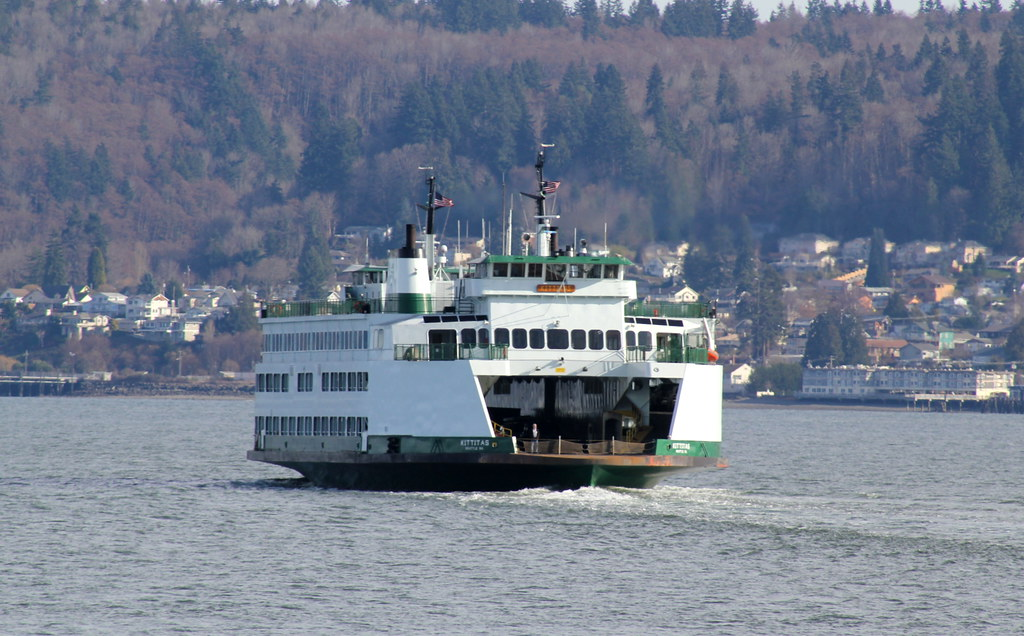 Whidbey Island Ferry The Ferry Kittitas M Liss Rae