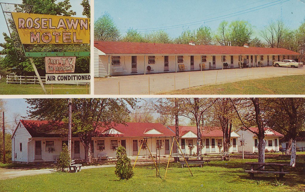 Roselawn Motel and Sassler's Restaurant - Ashtabula, Ohio