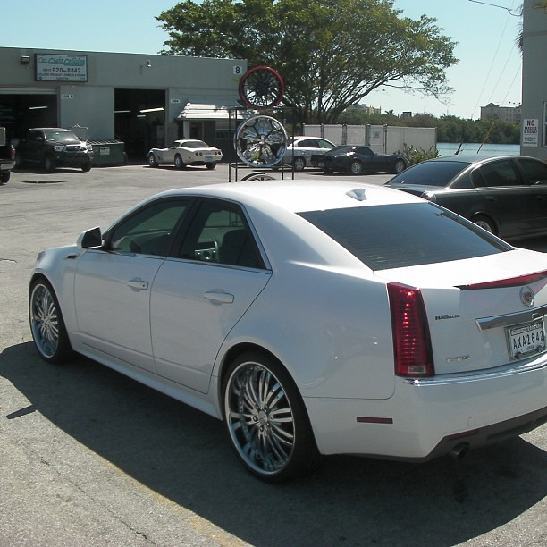22 Inch Verde Madonna Chrome Wheels 2011 Cadillac Cts 18 Flickr