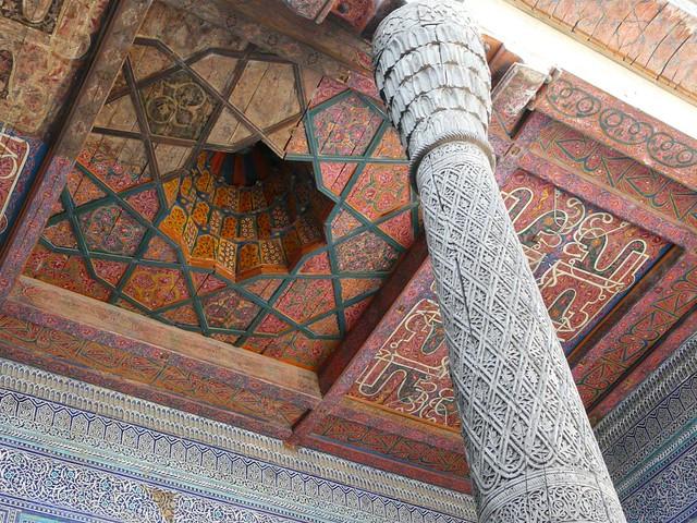 Detalle de Khiva (Uzbekistán)