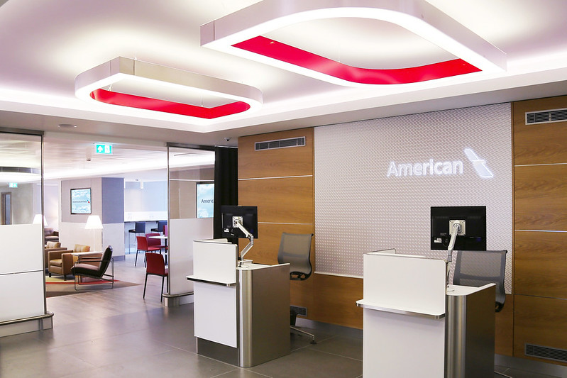 American Airlines Arrivals Lounge London Heathrow Terminal 3