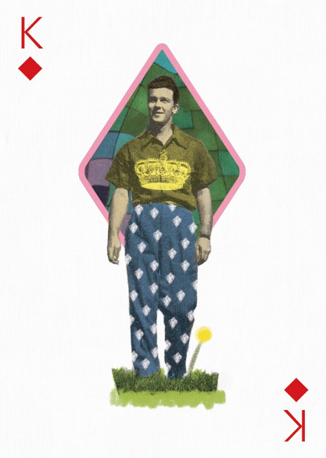 king of diamonds playing arts card