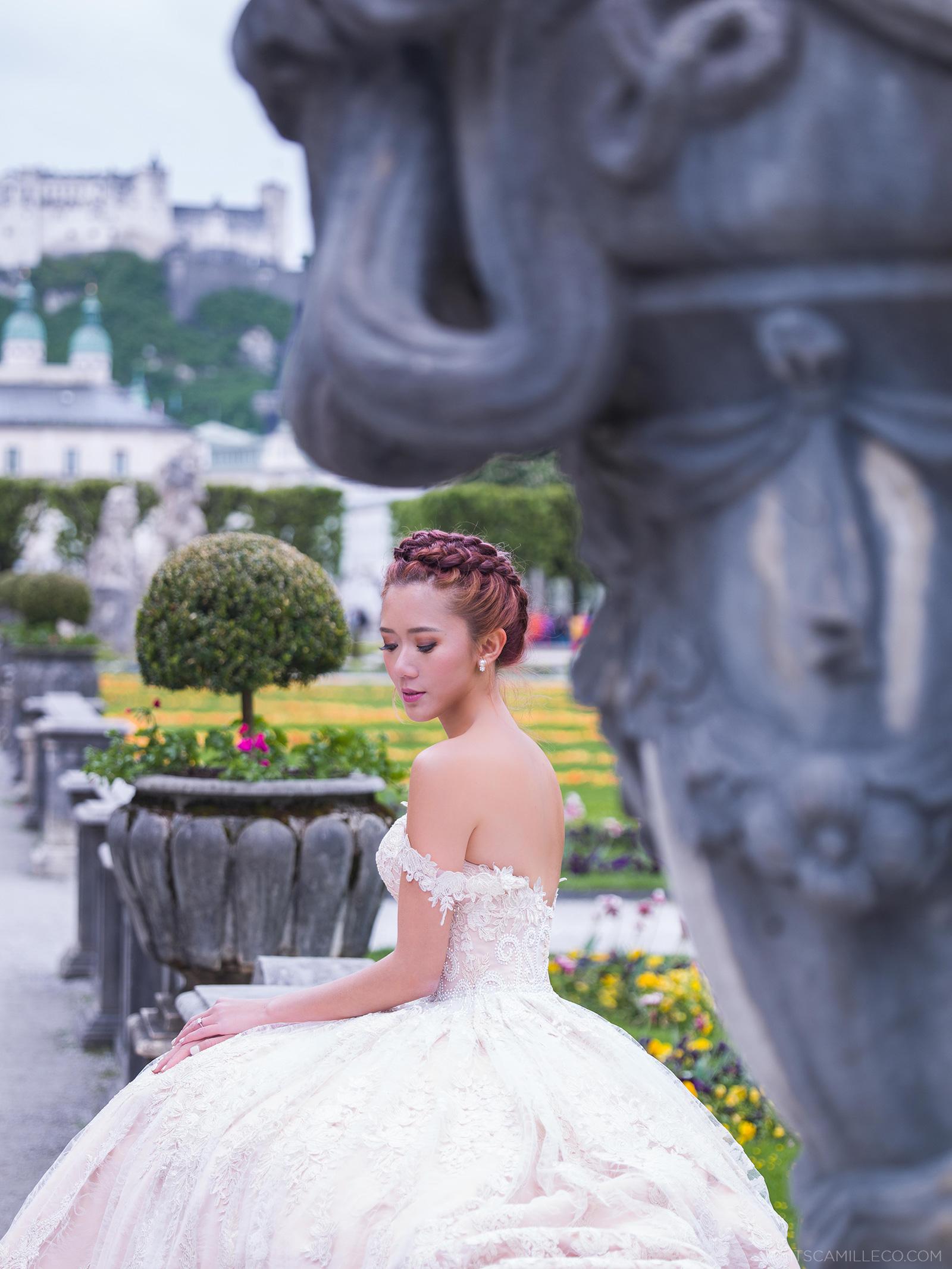 Camille Wedding Dress 25 Good Prewedding Shoot At Salzburg