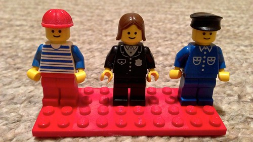 Found some classic (c. 1978) LEGO Town minifigs in my old collection :-) | by andyp uk