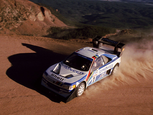 peugeot 405 t16 at pikes peak ari vatanen on his way to th flickr. Black Bedroom Furniture Sets. Home Design Ideas