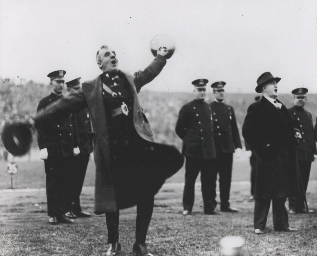 Smedley Butler at Marines vs. American Legion Football Gam ...