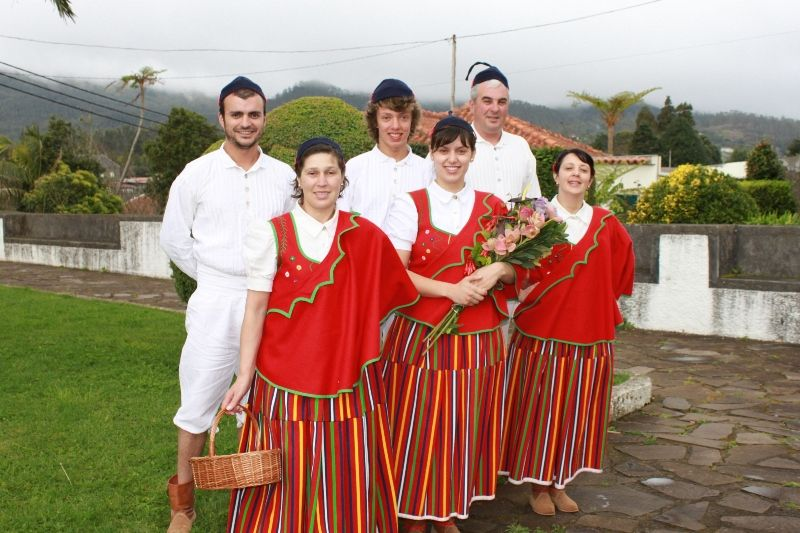People celebrate Madeira Flower Festival in Portugal - Global Times